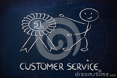 Number one customer service