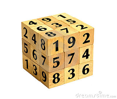 Number Puzzle Cube