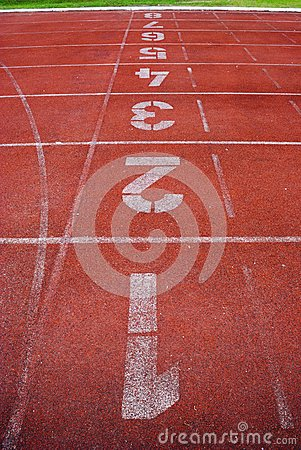 Number and running track