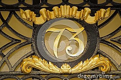 Number Seventy Three