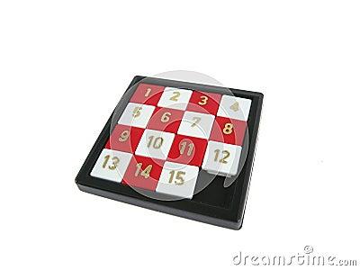 Number slide game