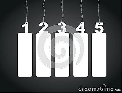 Number tag labels