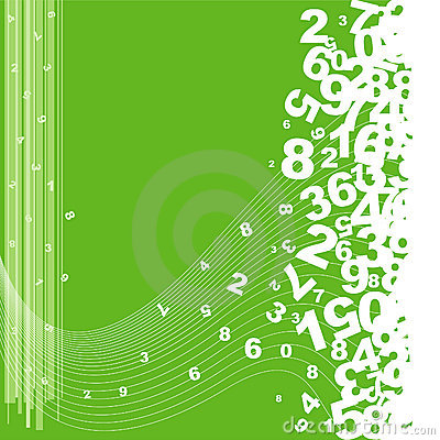 Free Numbering Background Stock Photo - 11065690