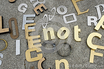 Numbers and letters for sale