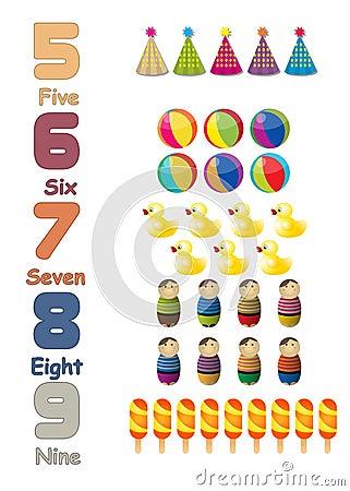 Numbers set 02
