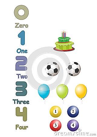 Numbers set 01