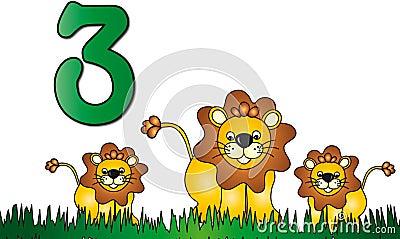 Numbers: three