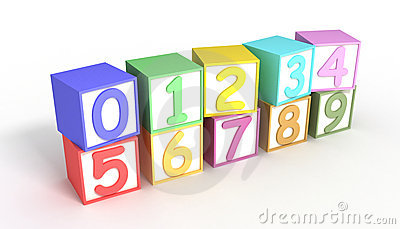 Numeric Baby Blocks