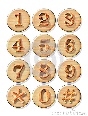 Numeric button