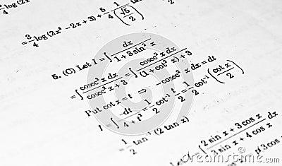 Numerical problems in Calculus