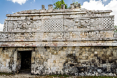 The Nunnery Temple Chichen Itza Mexico