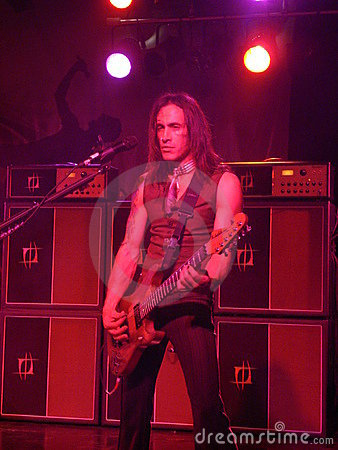 Nuno Bettencourt playing guitar Editorial Photo