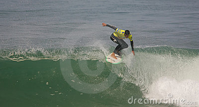 Nuno Silva (PRT) in ASP World Qualifier Editorial Stock Photo
