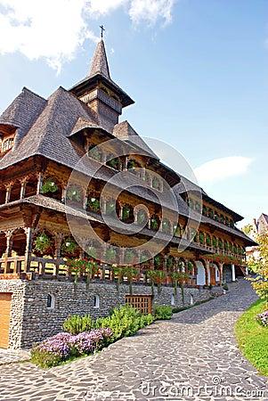 Free Nuns House At Barsana Monastery Royalty Free Stock Image - 16285646
