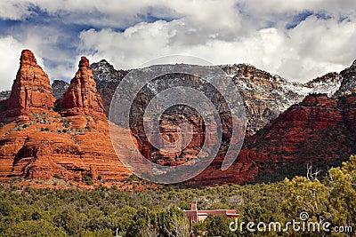 The Nuns Orange Red Rock Canyon Sedona Arizona