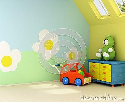 Nuova stanza per un bambino