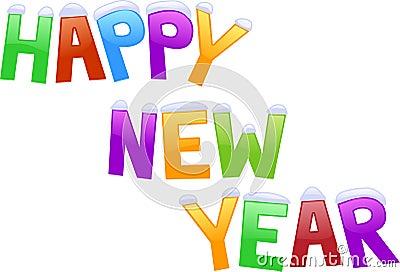 Nuovo anno felice