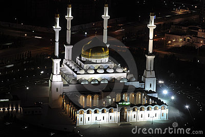 Nur Astana - central mosque in Astana, Kazakhstan.