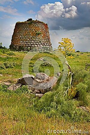 Free Nuraghe Tower Sardinia Italy Royalty Free Stock Photo - 19401625