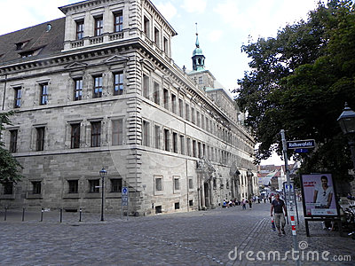 Nuremberg, Germany Editorial Stock Photo