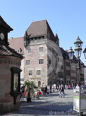 Nuremberg, Germany Editorial Stock Image