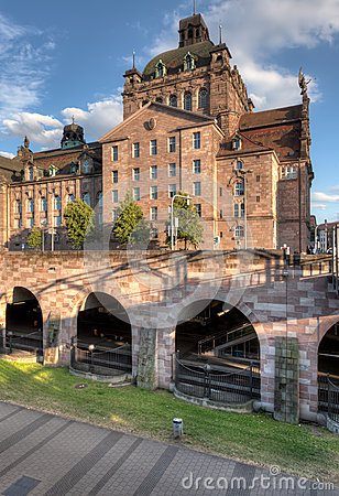 Free Nuremberg Opera House And U-bahn Station Royalty Free Stock Image - 42385076