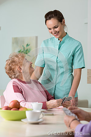Free Nurse And Patient Royalty Free Stock Photography - 55579927