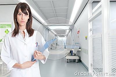 Nurse at the hospital