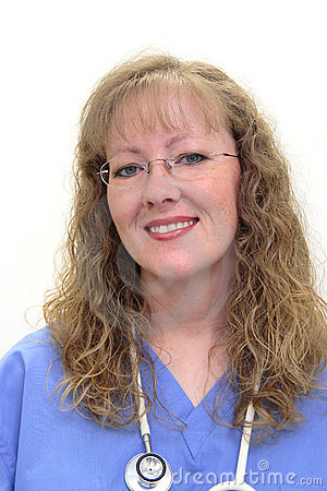 Free Nurse In Scrubs Stock Image - 1487821