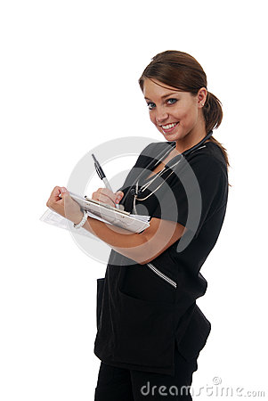 Nurse making rounds