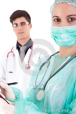 Nurse and medic