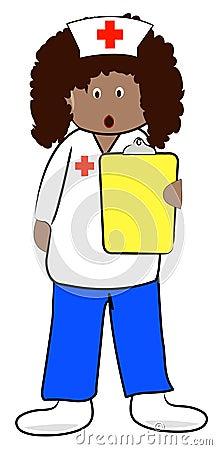 Nurse with shocking news