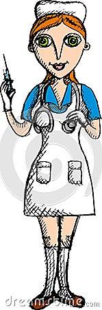 Nurse (Vector)