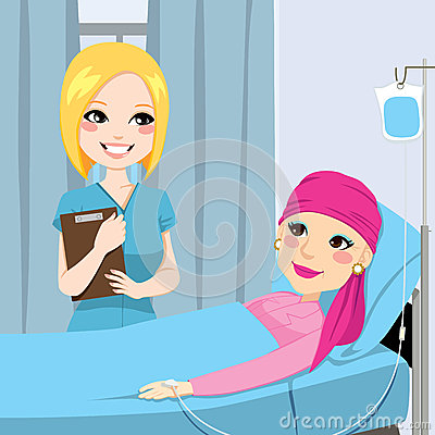 Nurse Visit Senior Woman