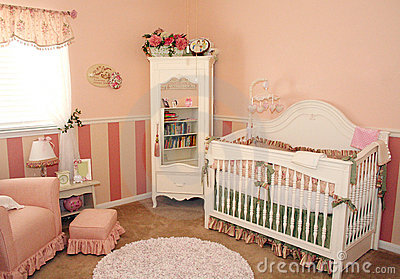 Nursery Room for a girl