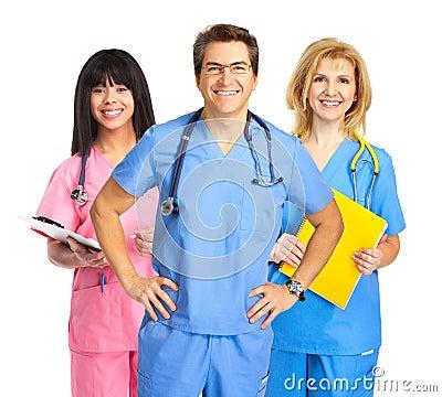 Free Nurses Royalty Free Stock Images - 8514489