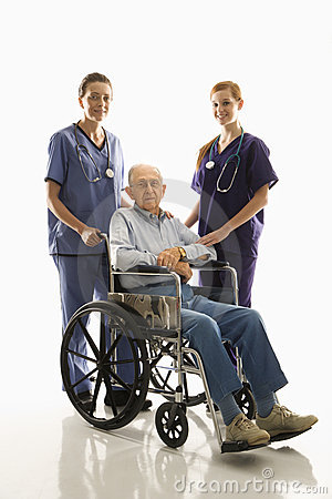 Free Nurses With Patient Royalty Free Stock Photo - 2046845