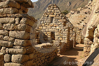 Nusta s Bedroom from Machu Picchu