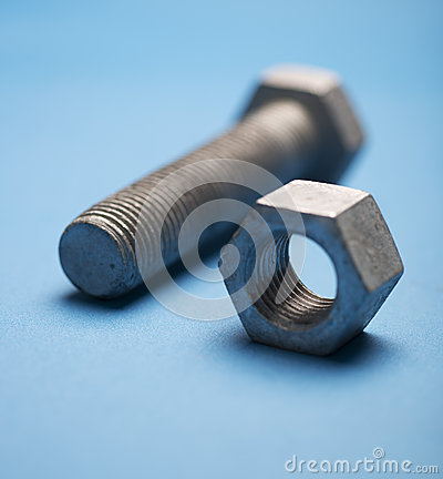 Free Nut And Bolt Royalty Free Stock Image - 31199656