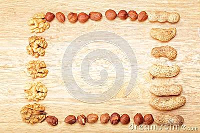 Nut frame