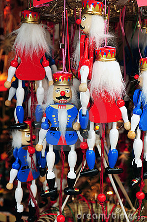 Nutcracker marionettes