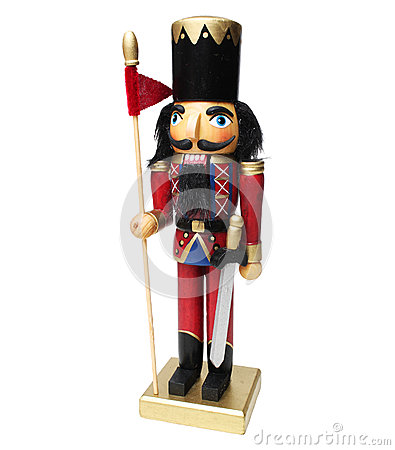 Free Nutcracker Soldier Royalty Free Stock Images - 49644079
