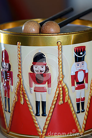 Nutcracker Tin Drum