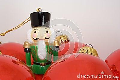 Nutcracker toy soldier ornament