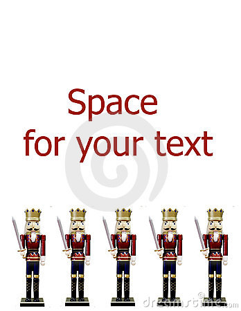 Free Nutcrackers Border Stock Images - 11095314