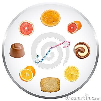 Nutrition Clock Concept