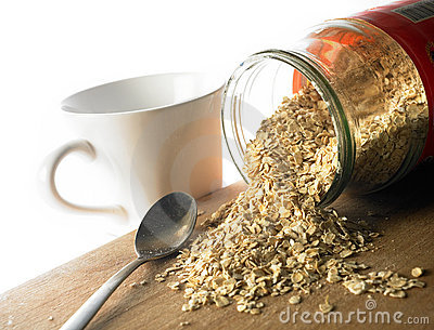 Nutritious Cereal Oats Royalty Free Stock Photography - Image: 3645297