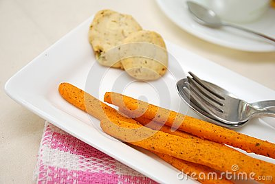 Nutritious And Healthy Afternoon Snacks Royalty Free Stock Photography - Image: 14362367