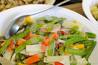 Nutritious mixed vegetables