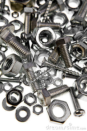 Free Nuts And Bolts Royalty Free Stock Photo - 9518725